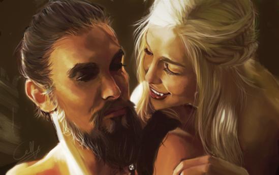 Awesome Daenerys Targaryen Artwork - from Deviantart