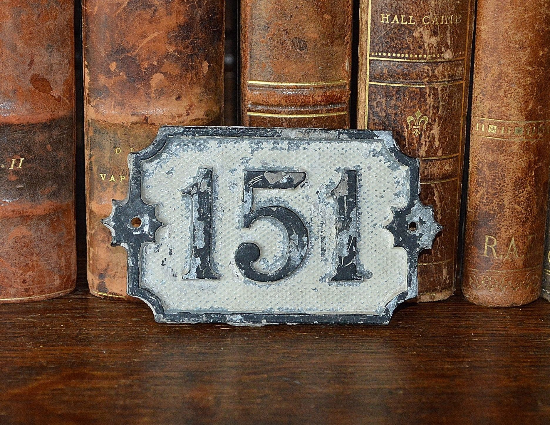 Antique german house number 151 plaque mount german houses antique german house number 151 plaque mount dailygadgetfo Images
