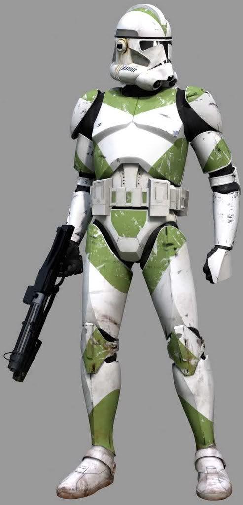 Clone Trooper-Phase II-Green photo GreenStanding.jpg ...