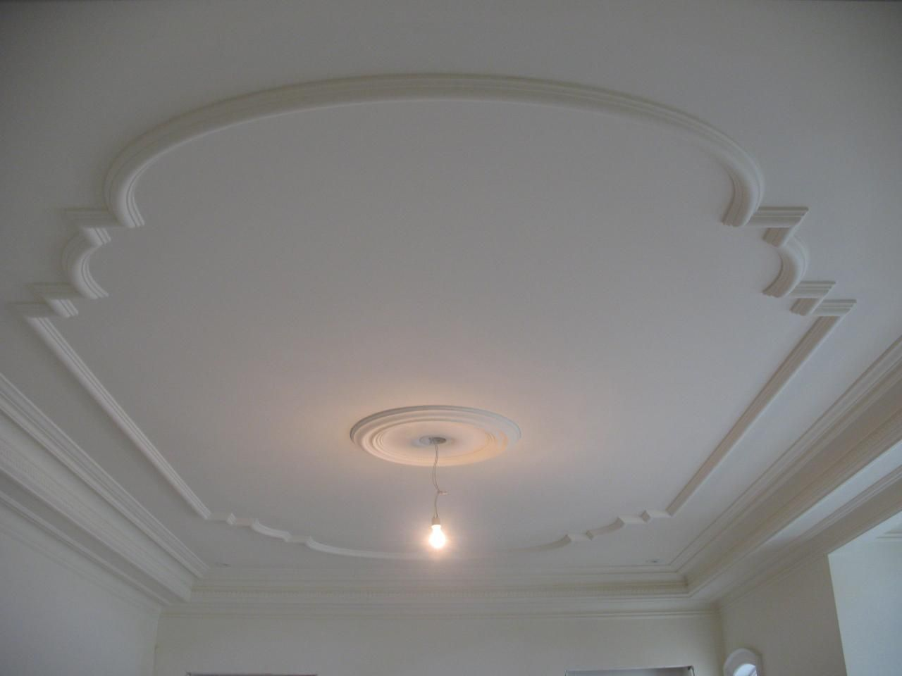 Fantastic ceiling and wall trim! moulding | Empire Plaster ...