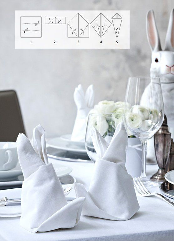 tischdeko ostern so decken sie festlich den tisch. Black Bedroom Furniture Sets. Home Design Ideas