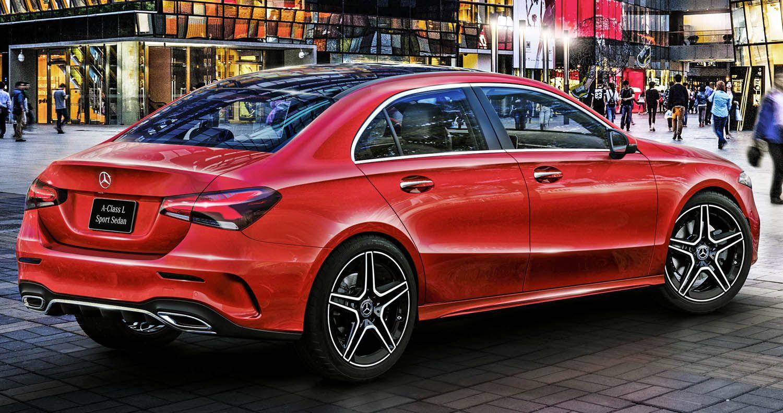 مرسيدس أي كلاس أل سيدان 2019 فئة الفخامة المدمجة الجديدة موقع ويلز Benz A Class Mercedes A Class Benz