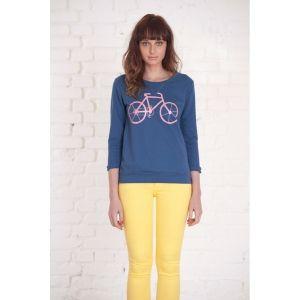 Bike Jersey de Compañía Fantástica Azul