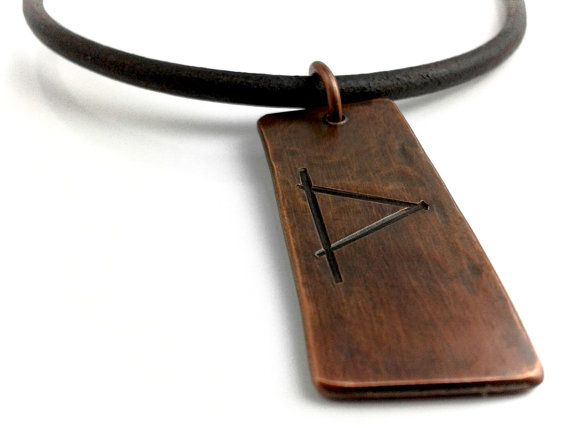 Viking Rune Necklace Pendant  Made to Order by HAMMERHEADdesigns, $35.00