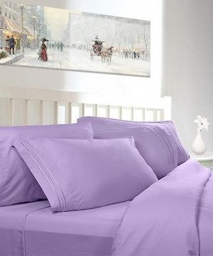 This Lavender Clara Clark 1800 Series Sheet Set by Cozy Array is perfect! #zulilyfinds