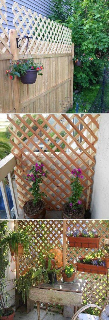 54 Ideas Apartment Balcony Garden Privacy Screens Ideas # ...