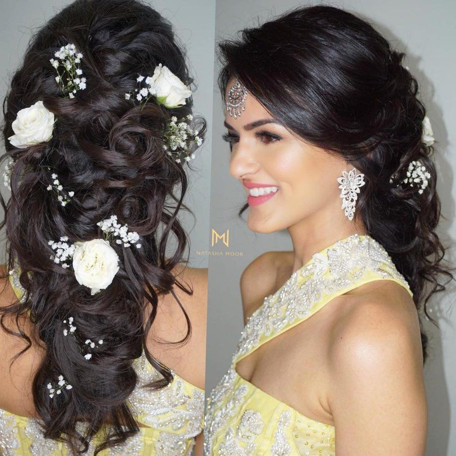 New Hairstyle For Wedding Ceremony: Pretty Braided Hairdo Inspiration For Wedding Ceremonies