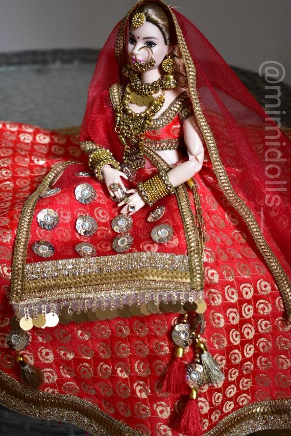 Indian bride doll | Indian bride groom dolls | Indian wedding | Bride doll | Indian bride | Indian groom doll | Indian groom | Barbie & ken #bridedolls