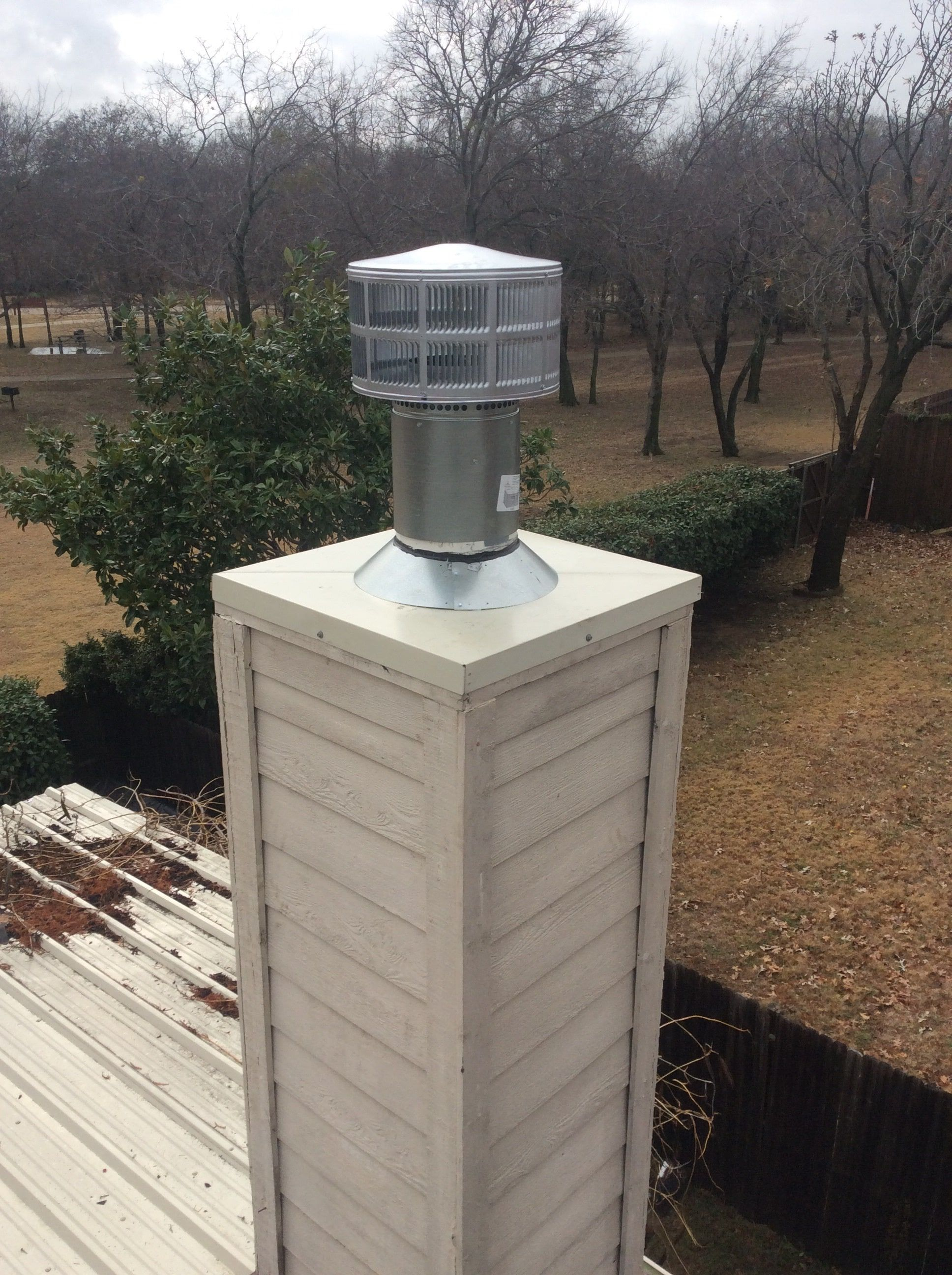 A chase cover is a lid for your chimney that ensures