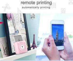 Bluetooth Wireless Small Thermal Printer Picture Mobile ...