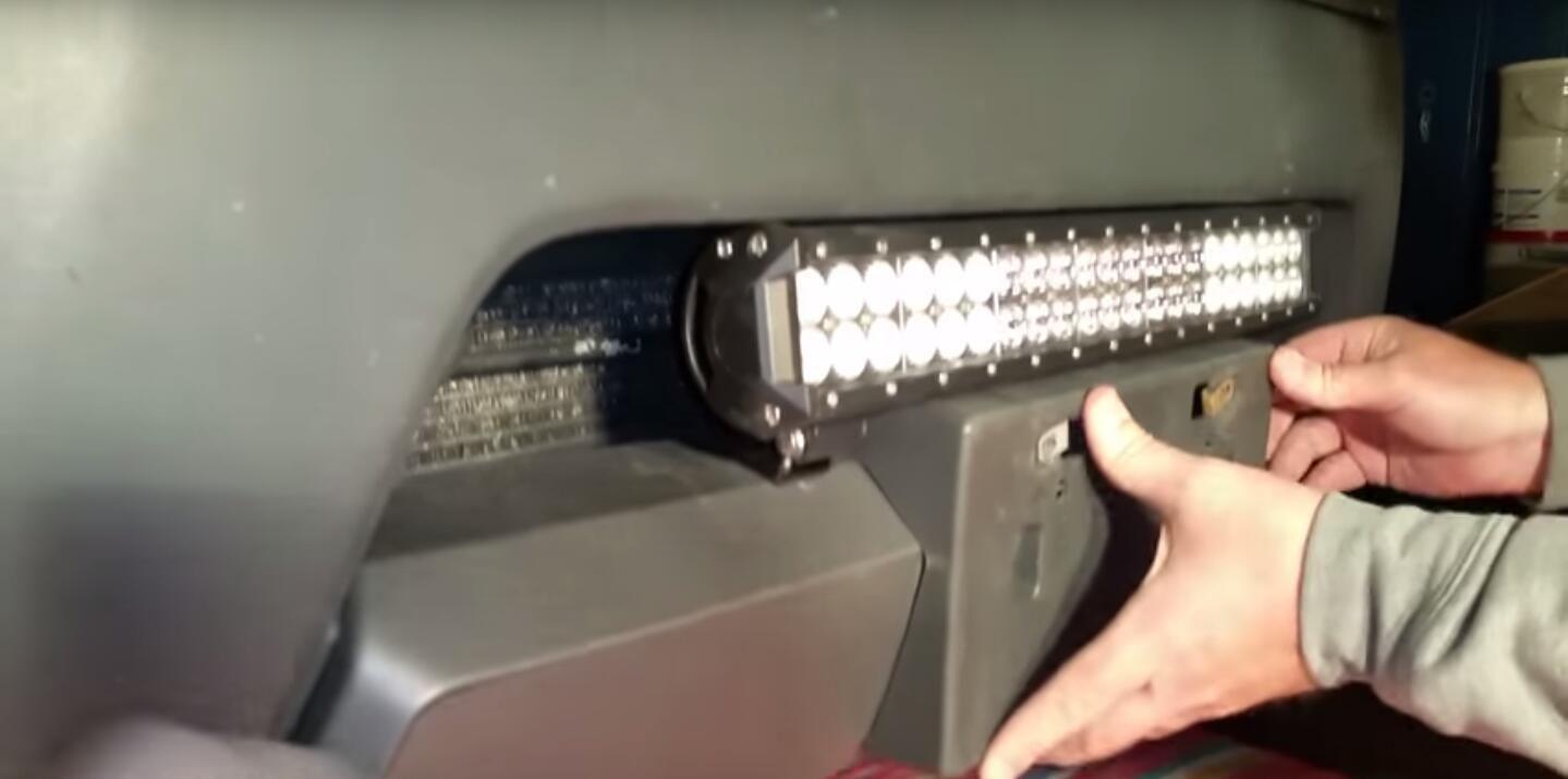Nissan Xterra 20 Inch Led Light Bar Installation Led Light Bars Bar Lighting Led Lights