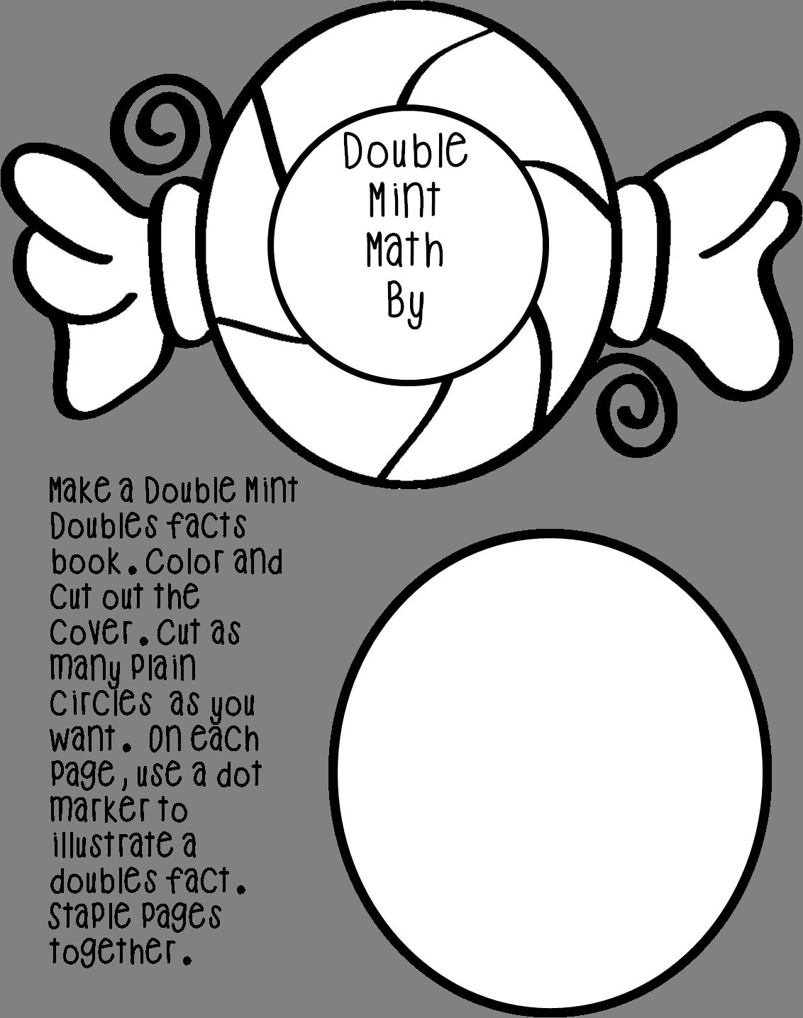 Double Mint Math Mini Book