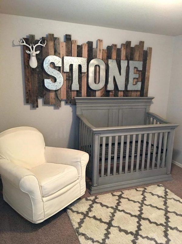 Dekoideen Babyzimmer Wanddeko Selber Machen
