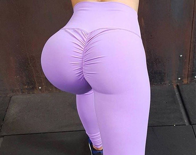 0348c64b1a221 Discount Up to 50% FRECICI Scrunch Butt Leggings Women Ruched Yoga Pants  Push Up Gym Active Pants Sports Leggings High Waits Workout Yoga Leggings