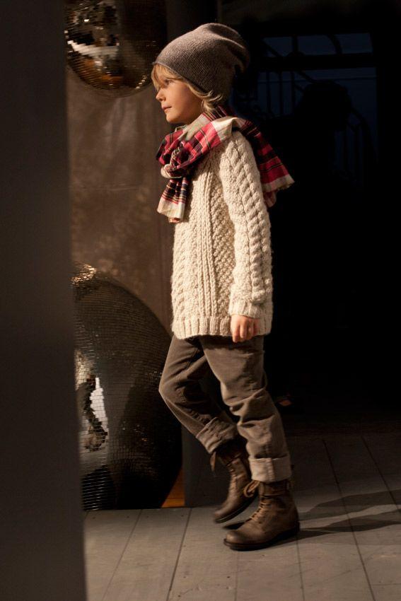 Winter 2012 Bonpoint Fashion Show | Kinder klamotten ...