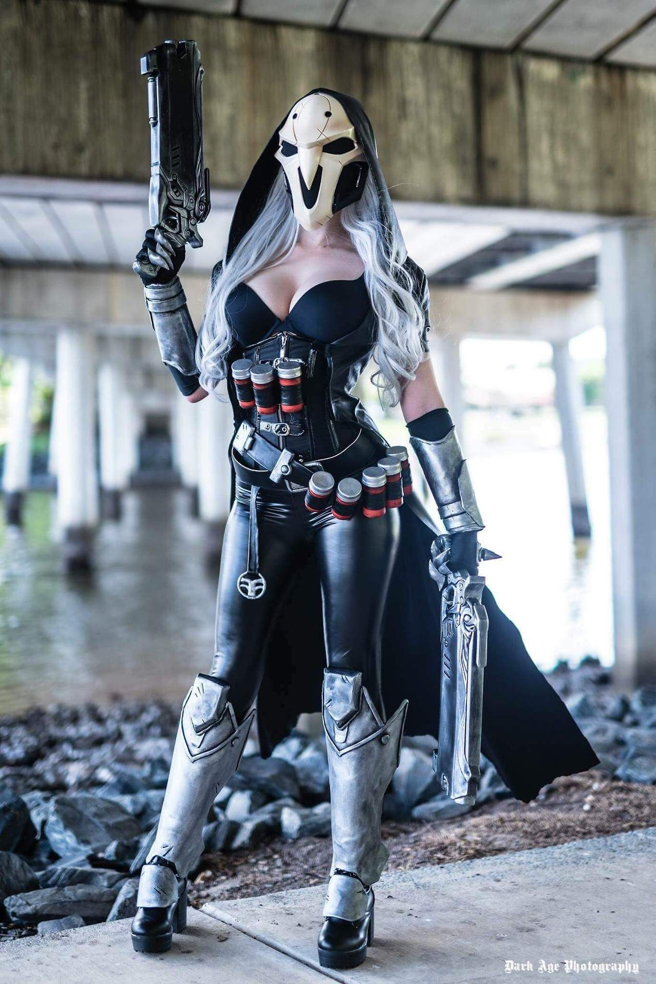 reaper cosplay from overwatch by nichameleon photo by dark age