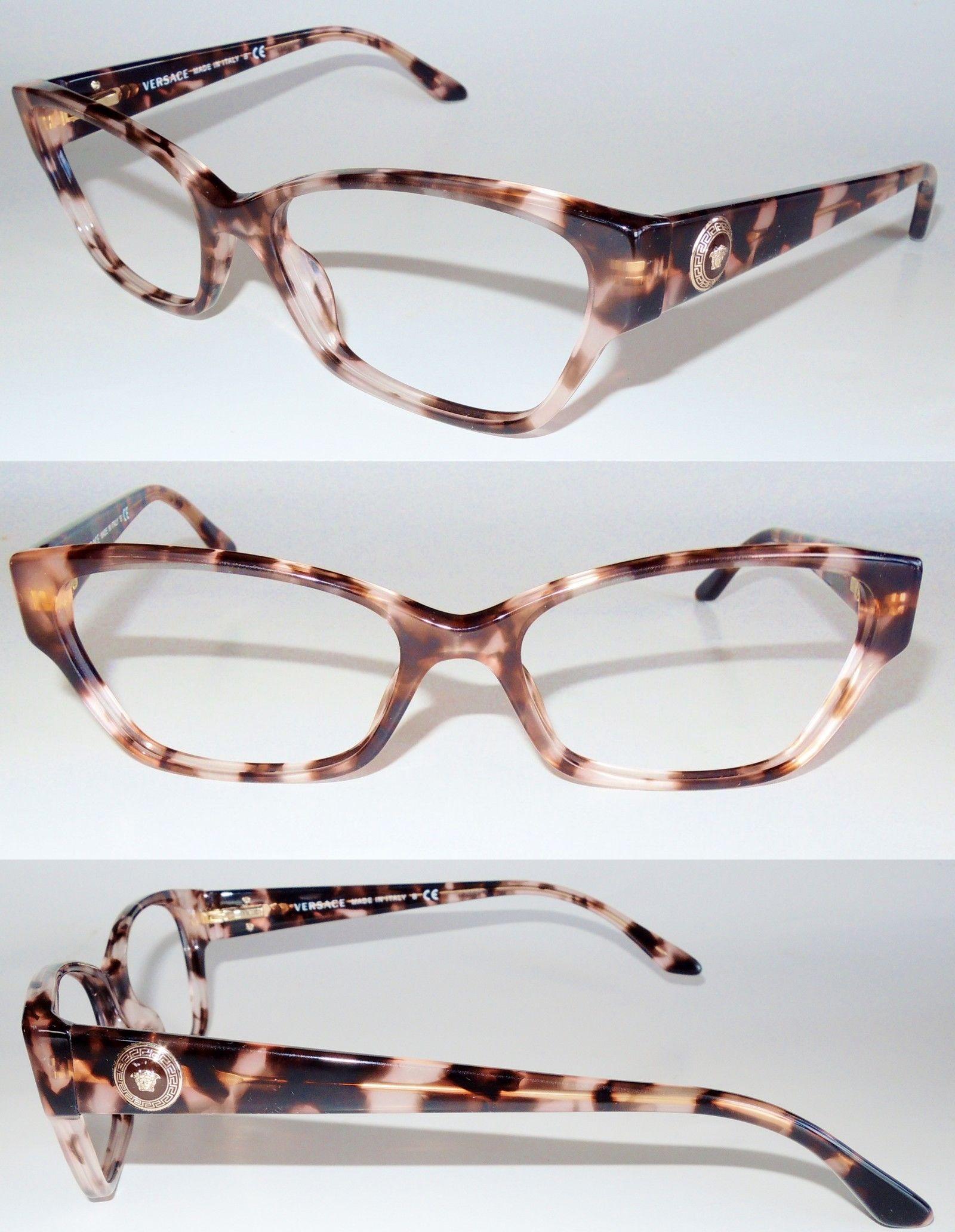 eyeglass cases versace 3172 999 tortoise acetate eyeglass frame buy it now only - Ebay Eyeglasses Frames