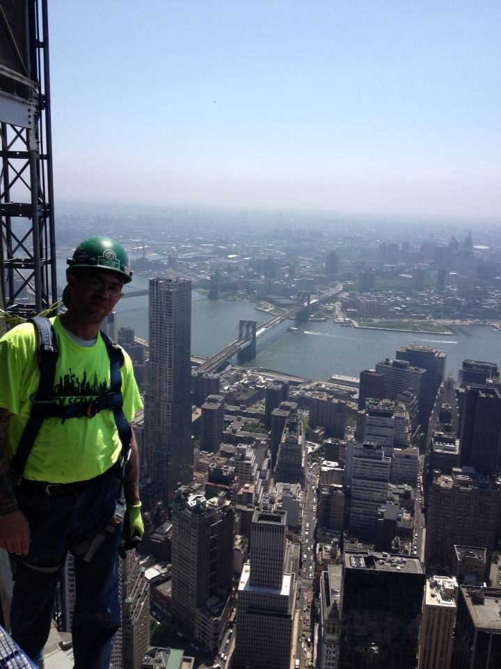 My friend Lenny Bednarz belongs to the Local 580 NYC Ironworkers