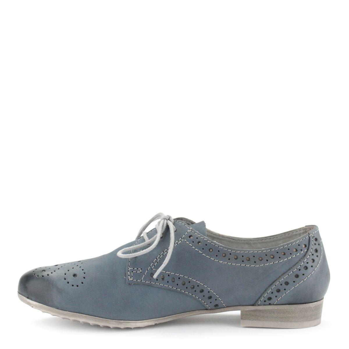 a5f275ffc146 Lapos fűzős Marco Tozzi női cipő kék színben | ChiX.hu cipő webáruház Lapos  fűzős