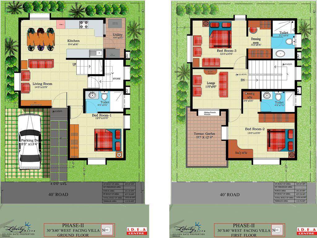 Indian Duplex House Plans West Facing Escortsea