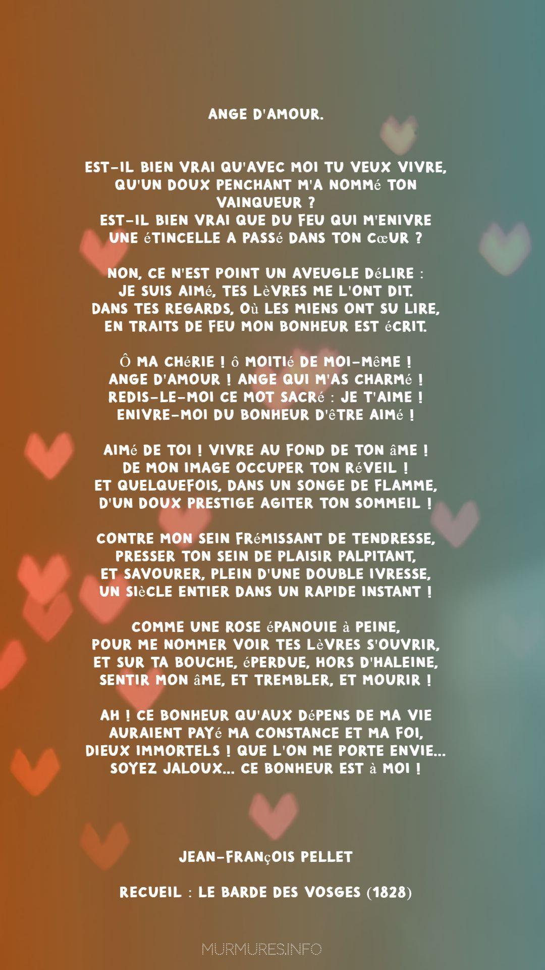 Ma Vie N'est Qu'un Instant : n'est, qu'un, instant, Poèmes, D'amour, Murmures.info, Poème, D'amour,, Poeme, Romantique,