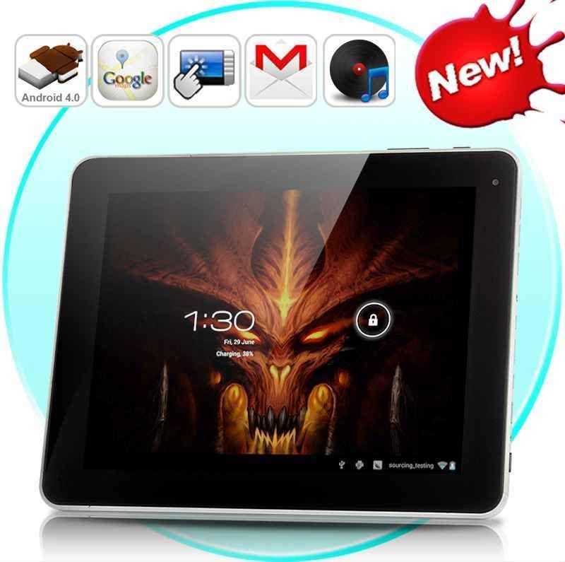 Android 4 0 Tablet Pc Dark Fantasy 9 7 Inch Hd Display 16gb 8000mah Batter Tablet Display Android