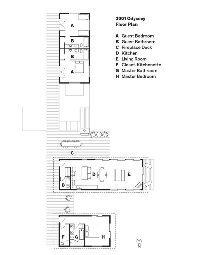 Dwell House Plans this modular compound accommodates the whole family | dwell