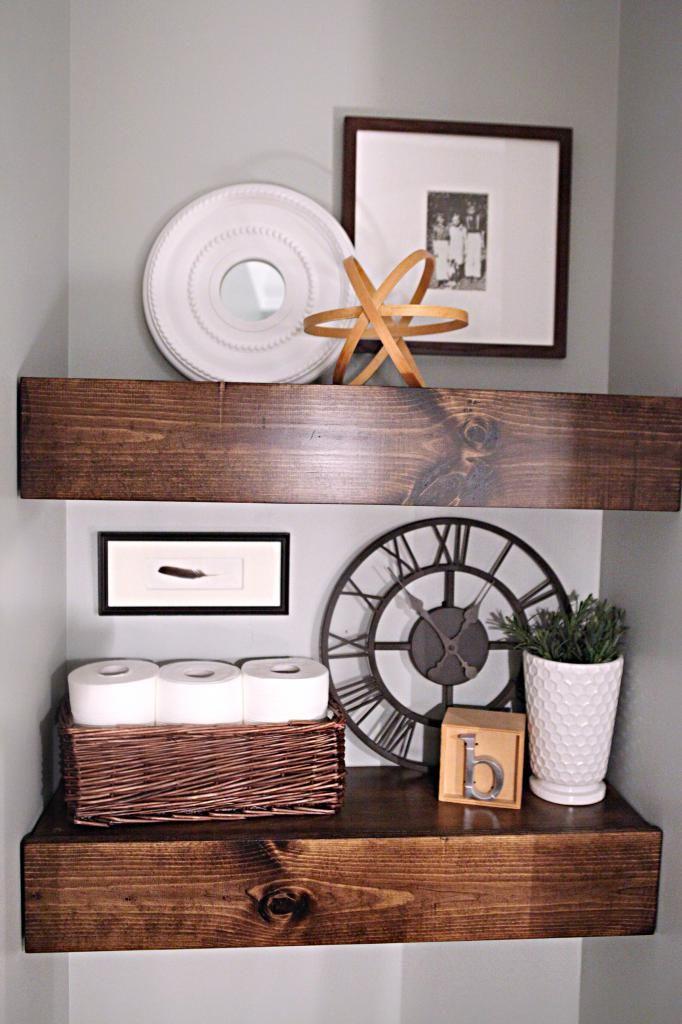 bathroom shelving ideas full bodied shelves shelves shelving and nook