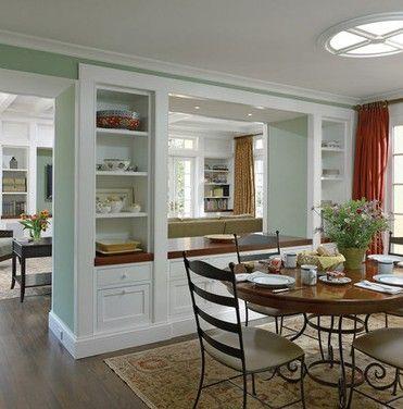 Idee per pareti divisorie idee per la casa pinterest kitchens decorating and room - Pareti divisorie per casa ...
