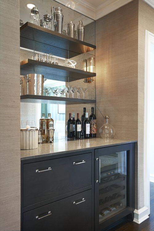 Wine Fridge Area Kitchen Renovation Home Bar Designs Bars For