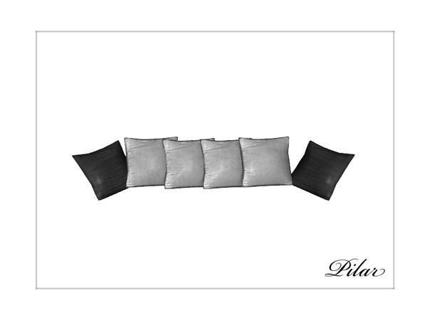 Pilars london pillows sofa