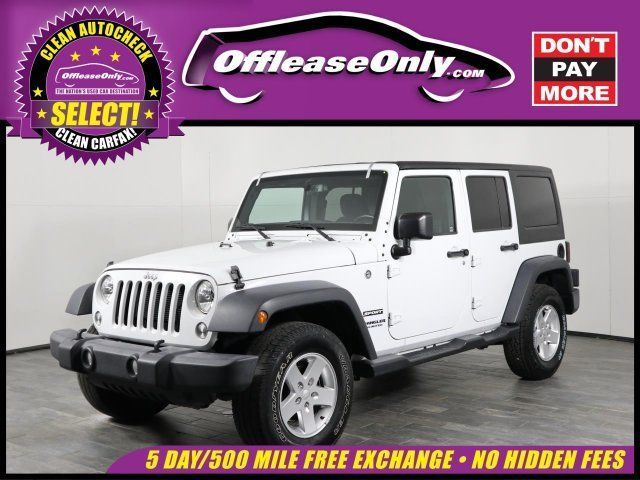 Ebay Wrangler Sport Off Lease Only 2016 Jeep Wrangler Unlimited Sport V6 Cylinde 2017 Jeep Wrangler Unlimited Jeep Wrangler Unlimited Wrangler Unlimited Sport