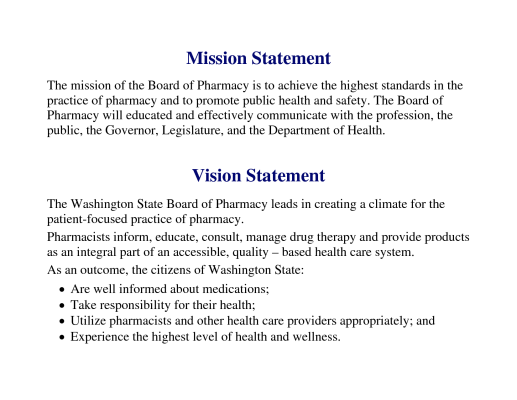 9 Busines Statement Example Mission Vision Personal Counselor