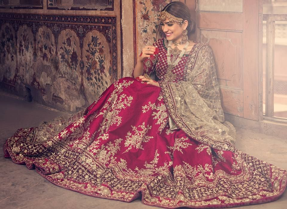 Mariab Pukhraj Bridal Dress Collection 2018 Eastern Western
