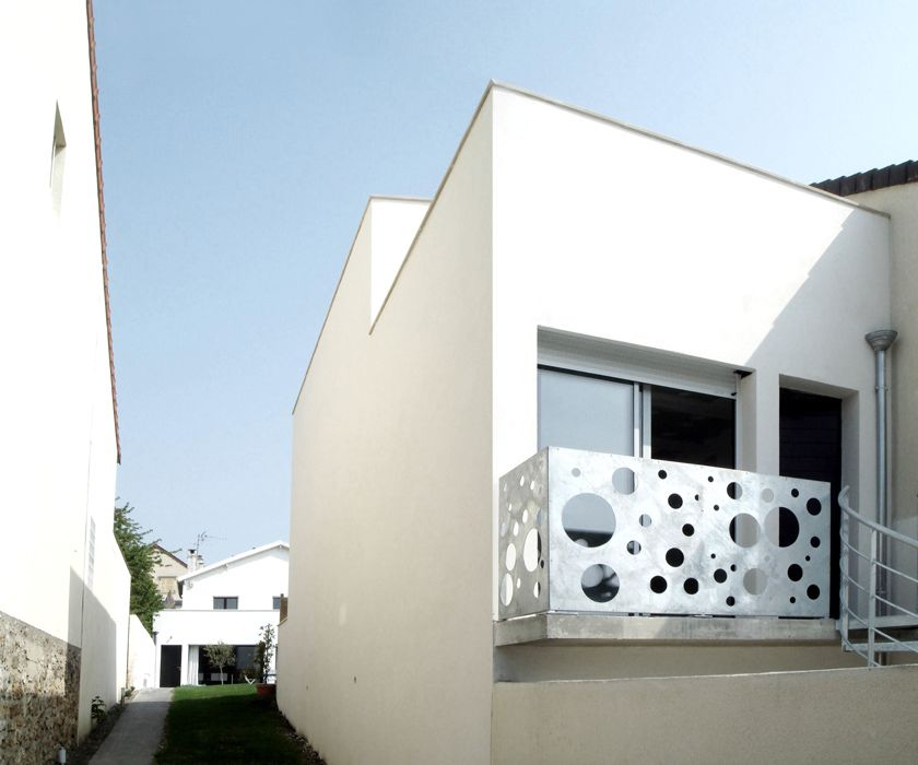 Ajile architectes - Maison Tube - Etroitesse de la parcelle