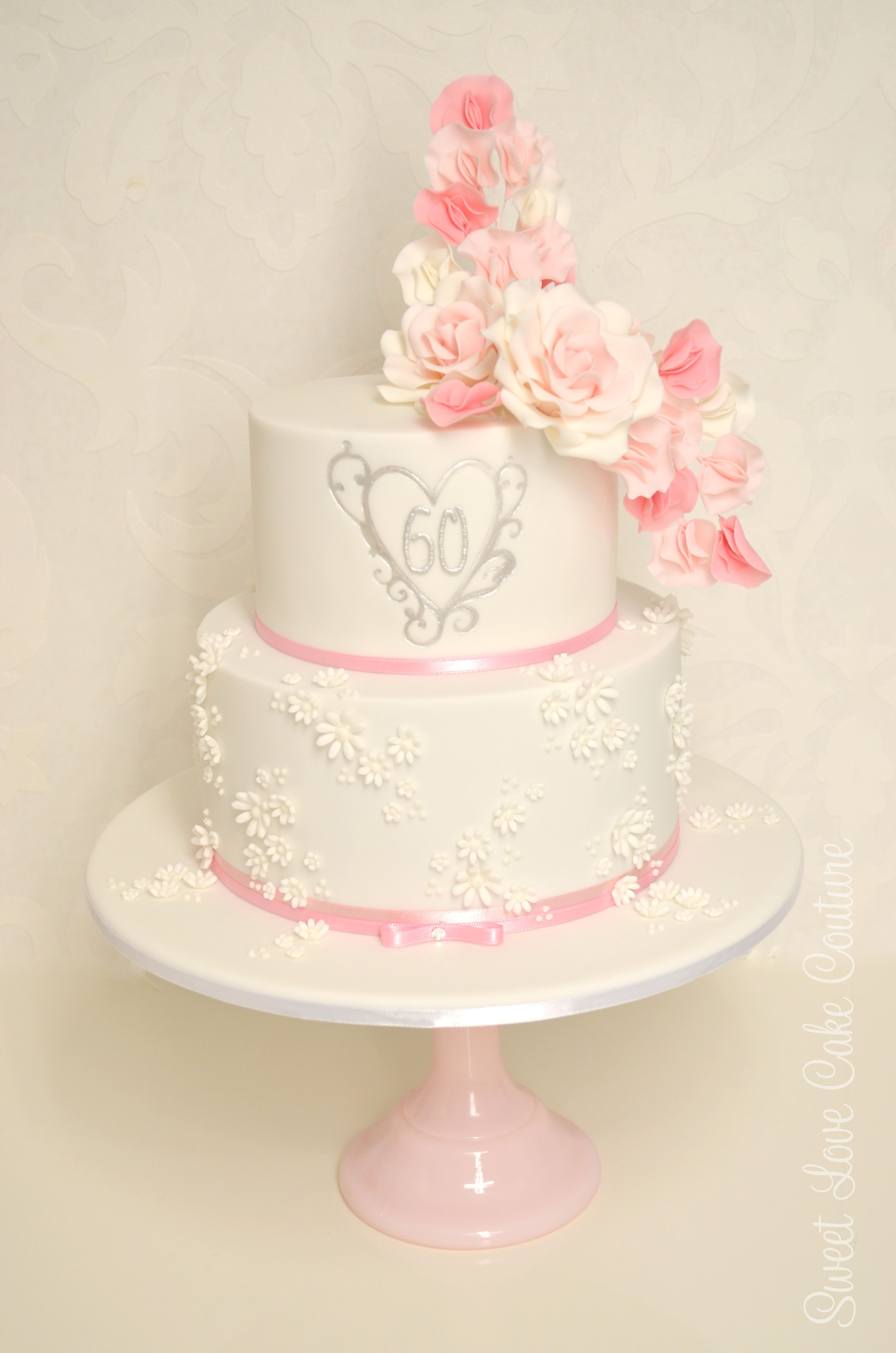 60th Anniversary Cake Cakes by Sweet Love Cake Couture ...