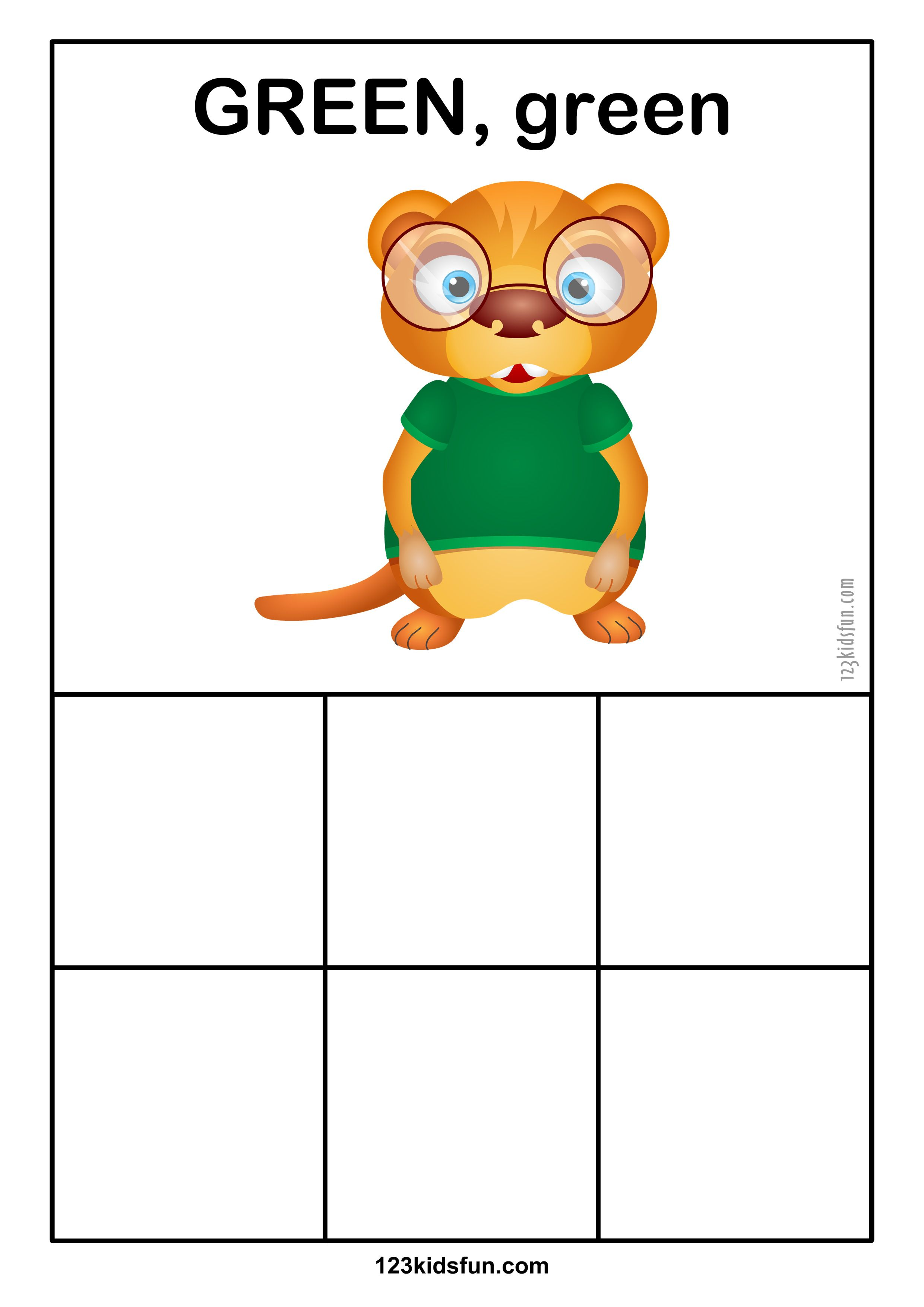 Color Matching Activity For Preschoolers