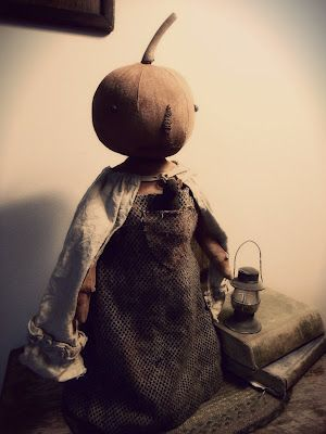 Primitive Pumpkin Make Do   email me for purchase~ @  wootown2003@yahoo.com