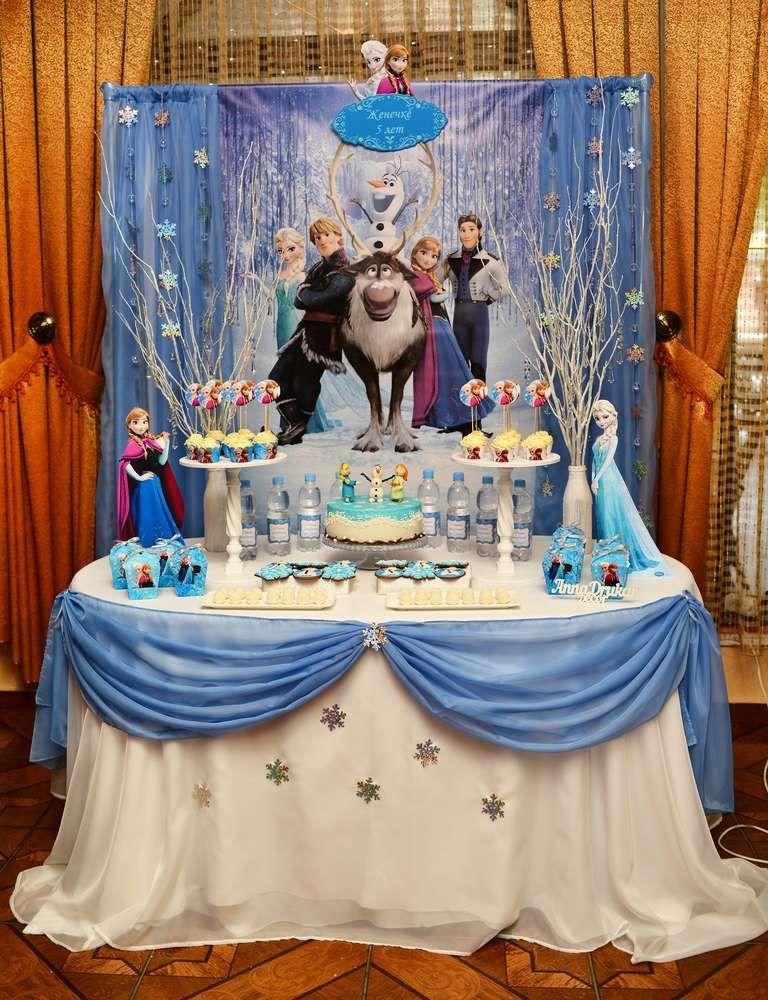 Frozen Birthday Party Ideas Birthdays Frozen birthday and Frozen