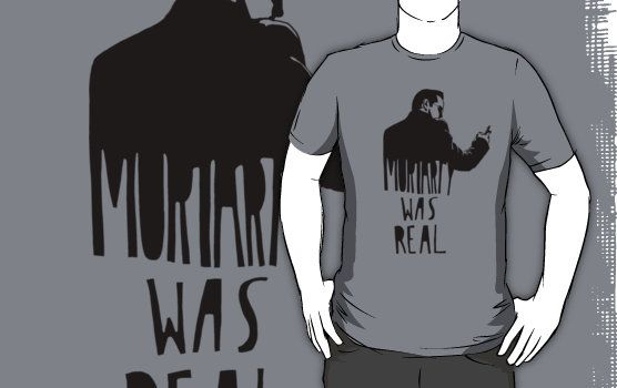 Moriarty Was Real #sherlock