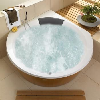 Villeroy  Boch Luxxus Eck Badewanne mit Whirlpoolsystem