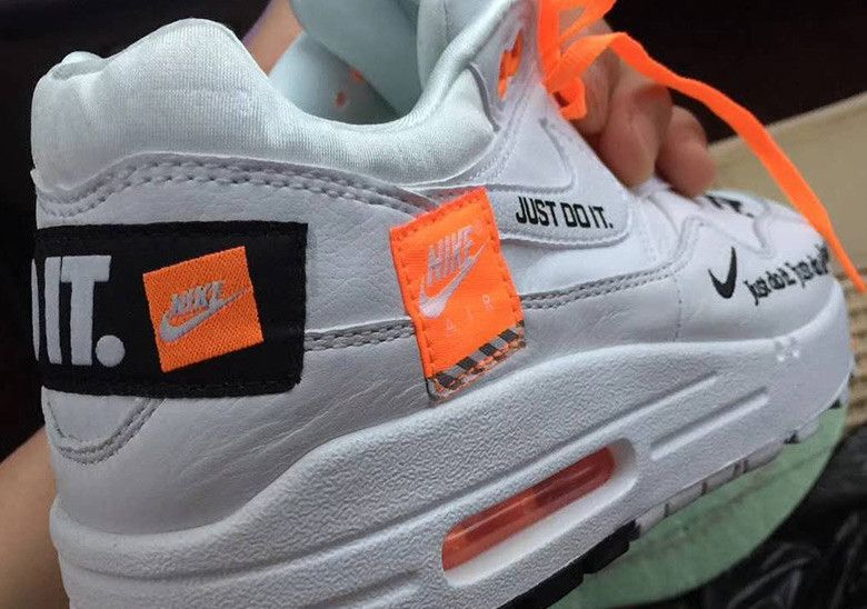 Nike Air Max 1 Logo Fall 2018 Photos  thatdope  sneakers  luxury  dope   fashion  trending 2e96fc5be