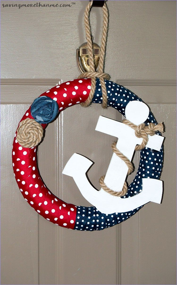 46 Stunning Diy Nautical Crafts That You Will Love Wreath Crafts