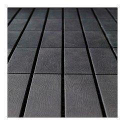 Runnen Decking Outdoor Dark Gray 9
