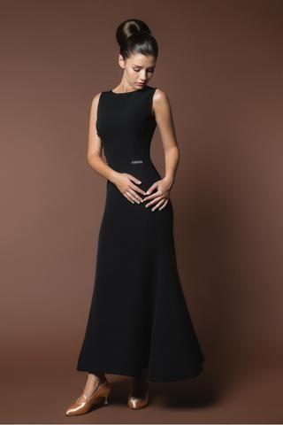 Classic Black Ballroom Dress B16 in 2020 | Ballroom dress