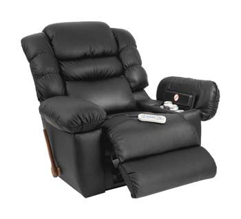 a massaging recliner chair at home is the next best thing to