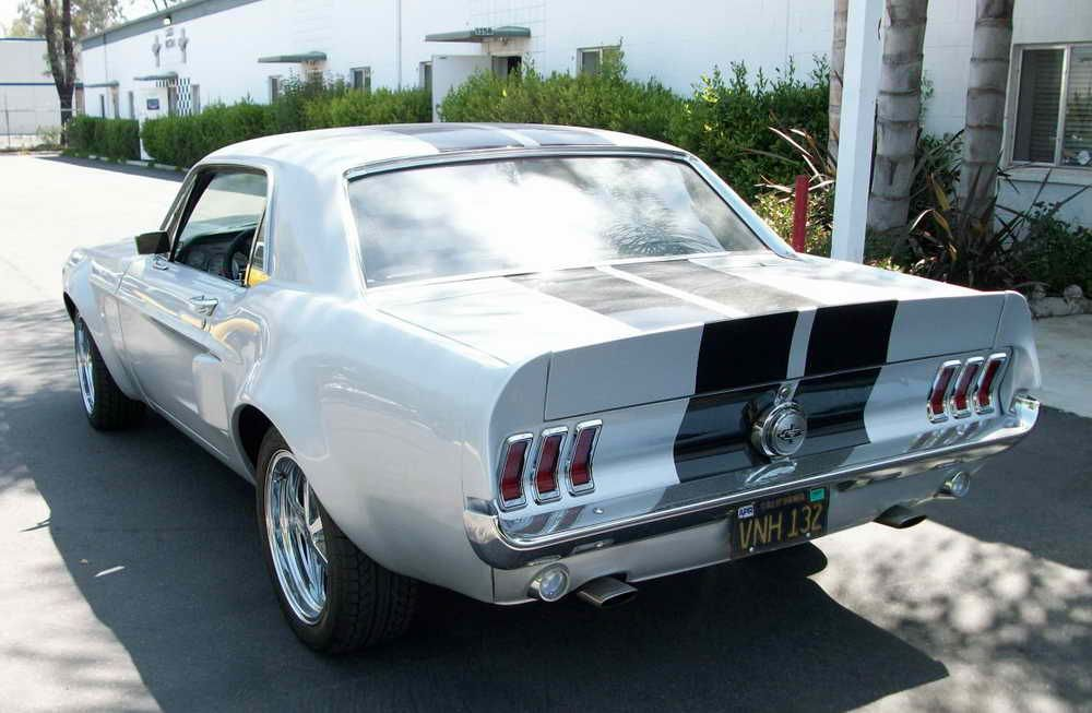 Where To Buy A Ductail Rear Spoiler For A 67 Mustang Coupe 67 Mustang Coupe 1968 Mustang 67 Mustang