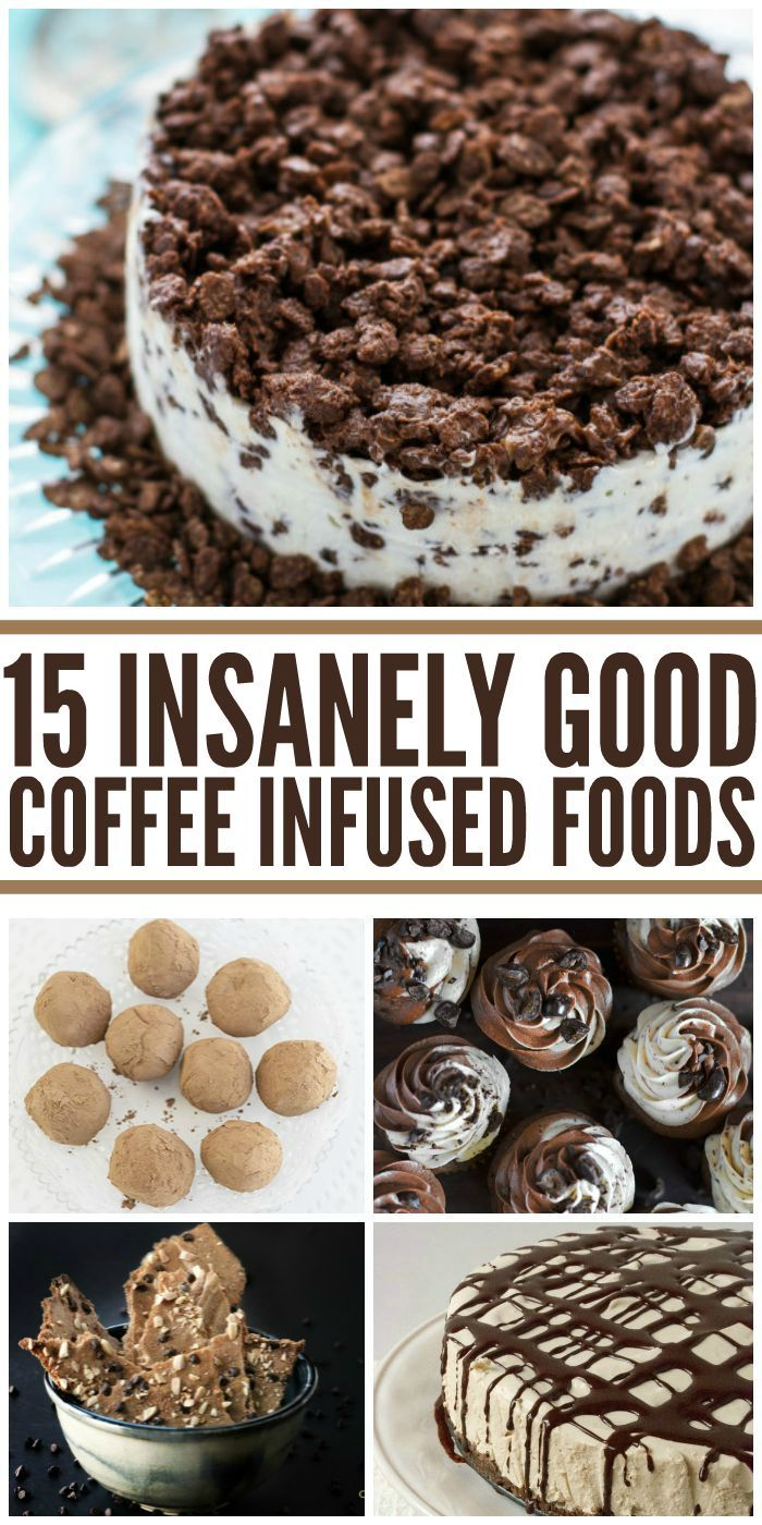 Insanely Good Coffee-Infused Foods #goodcoffee
