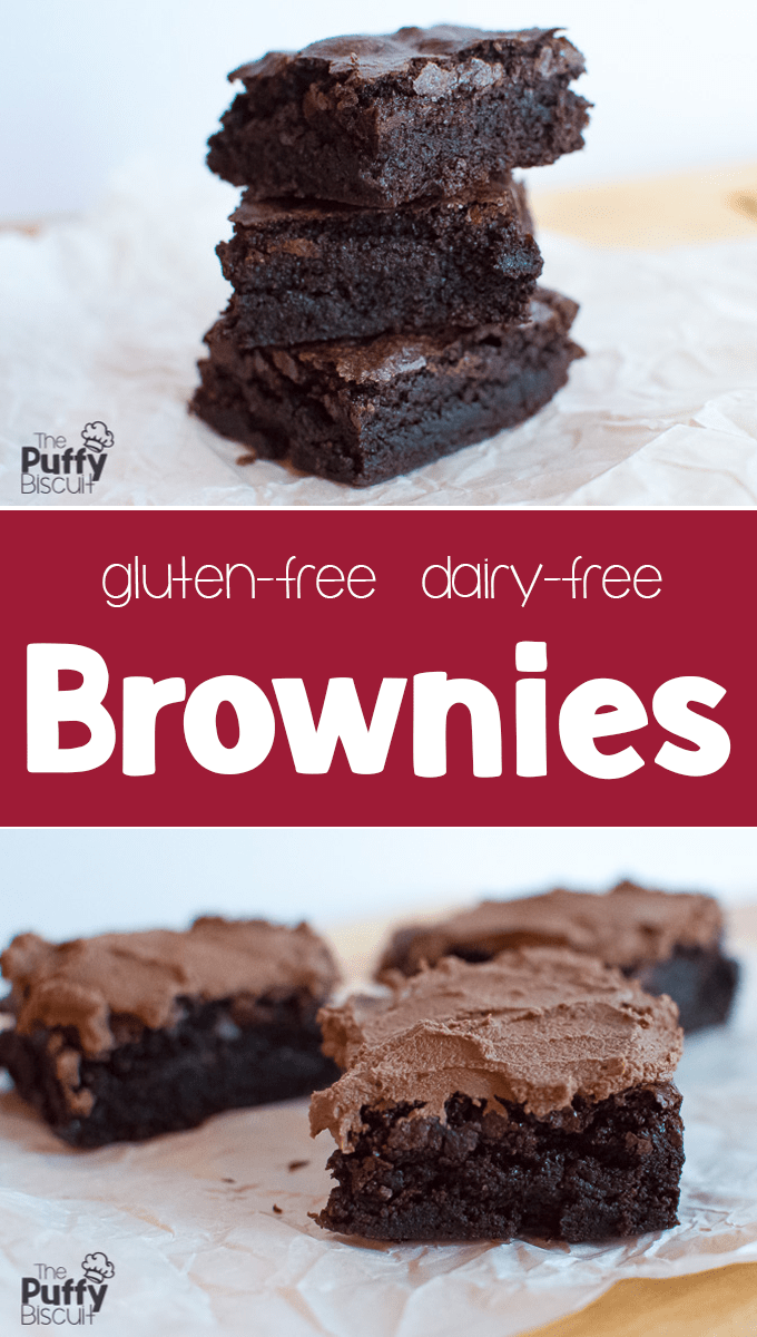 Gluten-Free Dairy-Free Brownies - The Puffy Biscuit