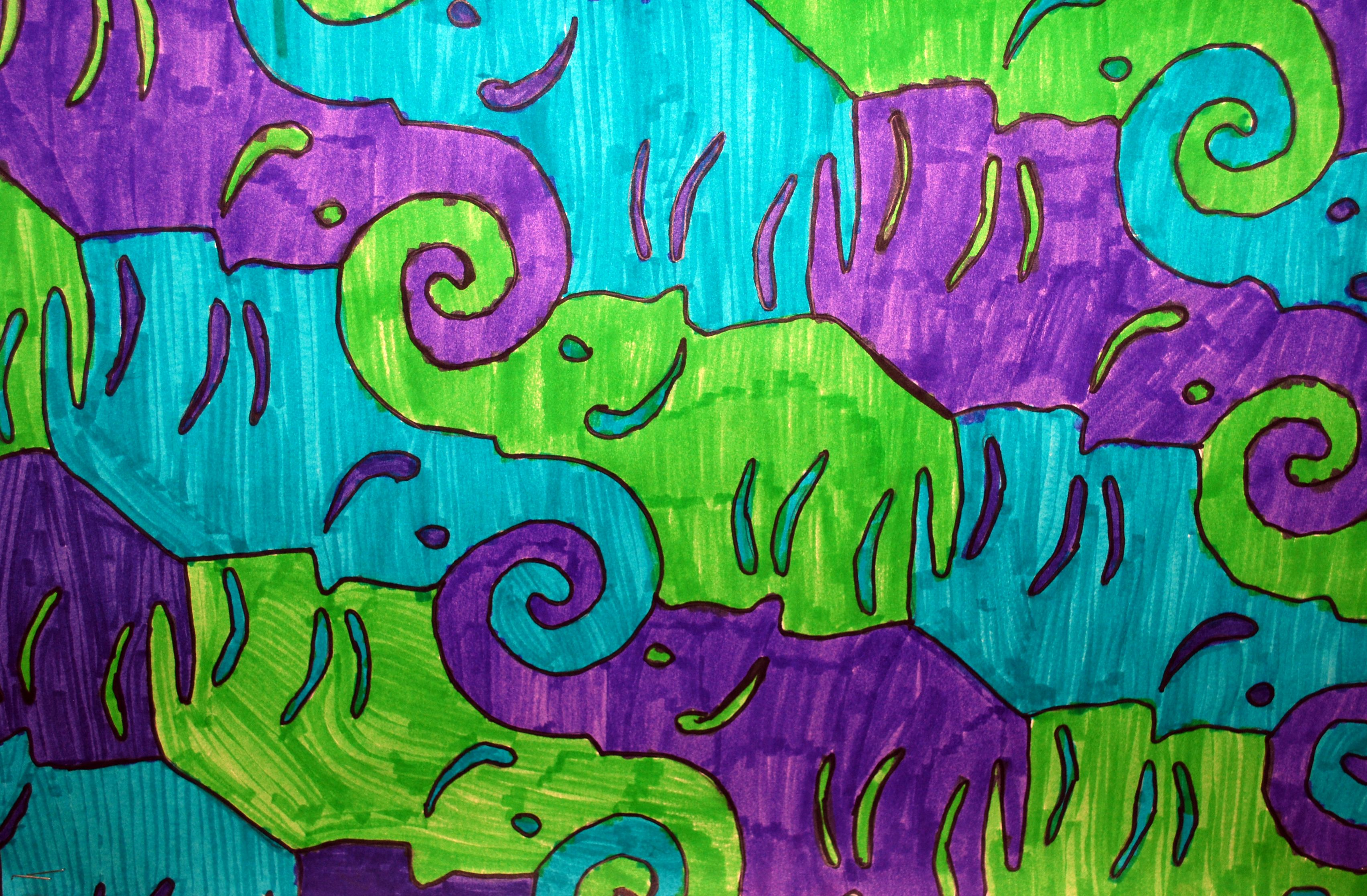 Tessellations Art Lessons Elementary Escher Art Art
